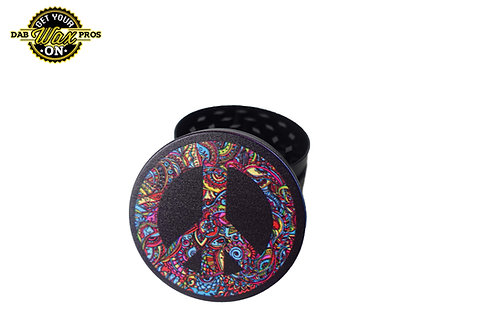 Peace Sign 3pc Grinder