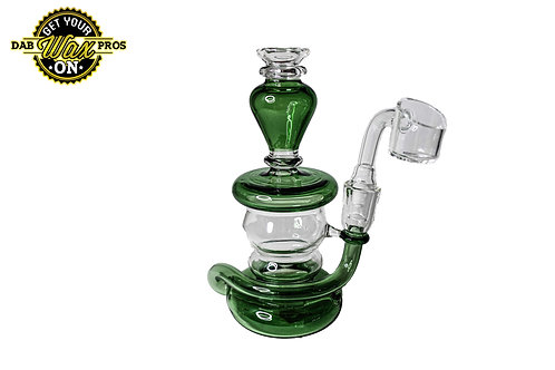 Green and Clear Mini Rig