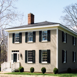 Closeup of house
