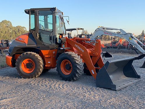 HITACHI ZW80 WHEEL LOADER