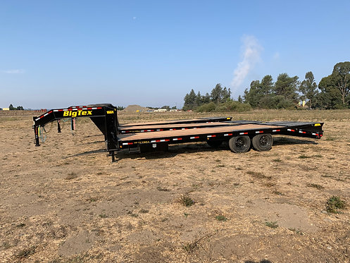 New Big Tex 16 GN-20+5 Gooseneck Trailer