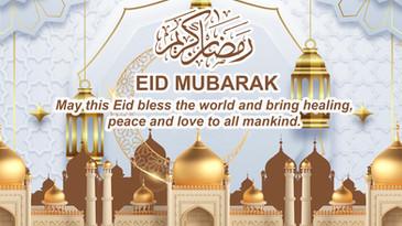 Wishing you all Happy Eid Ul Fitr