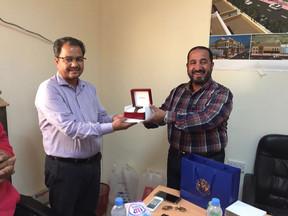 Appreciation Award to Sub Contractor