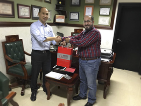 Presenting Gift for best Product Supplier