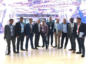 Daien Construction team at Cityscape Qatar exhibition