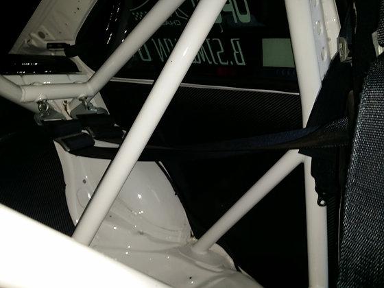 panneaux d'ailes arrière en carbone