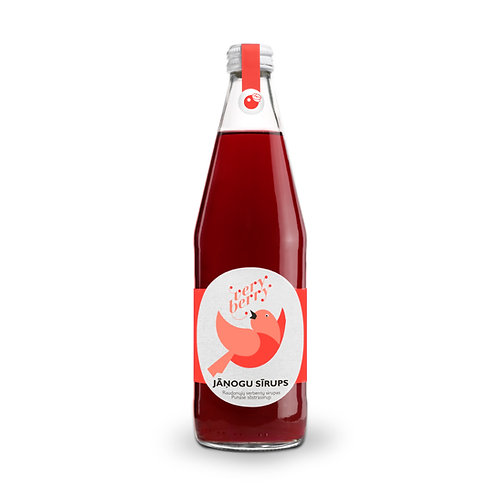 100% Pure Red currant Syrup