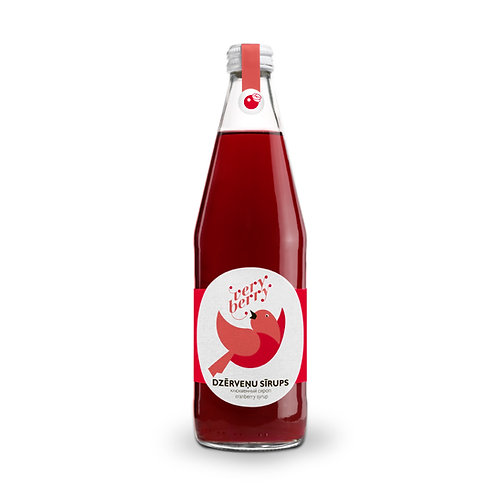 100% Pure Cranberry Syrup