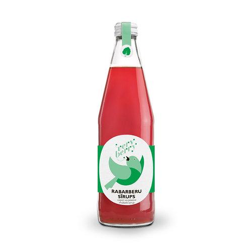 100% Pure Rhubarb Syrup