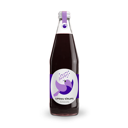 100% Pure Black currant Syrup