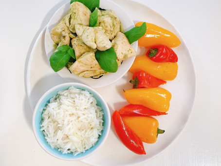 Chicken Breast with Healing Basil