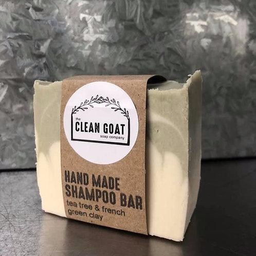 Tea Tree & French Green Clay Shampoo Bar