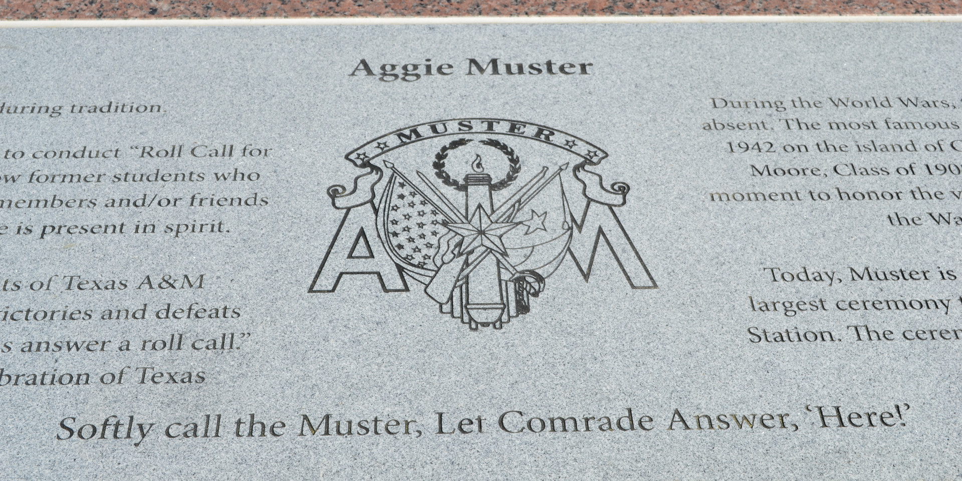 Aggie Muster