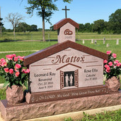 Mattox Church Monument