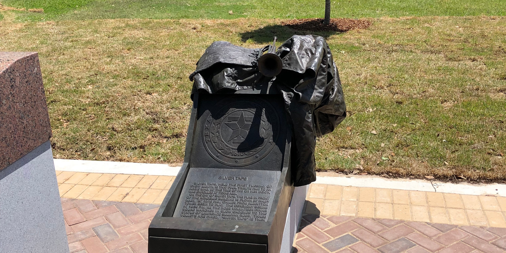 Silver Taps Statue