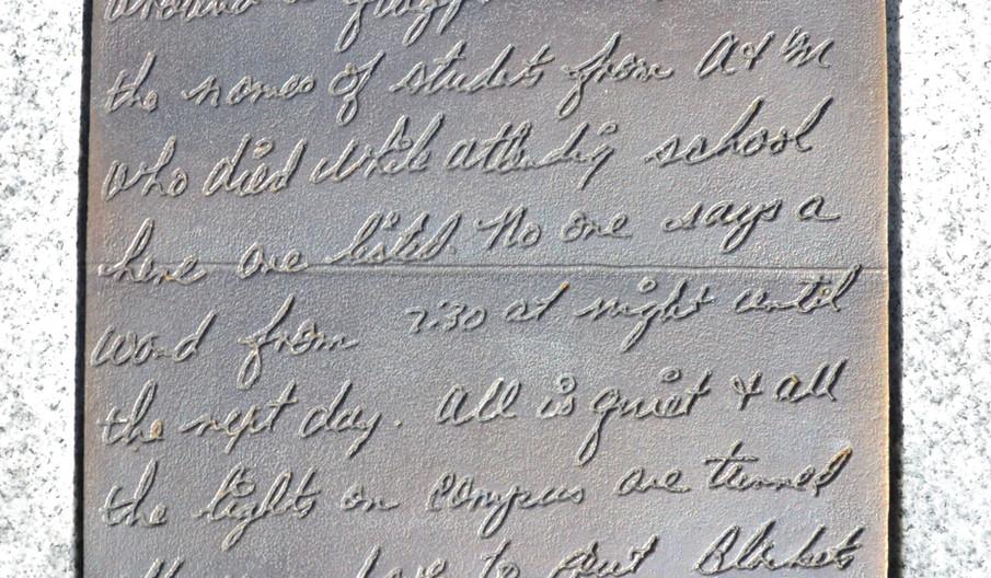 Donald Coward Letter