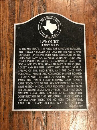 Texas Non-Historic Marker