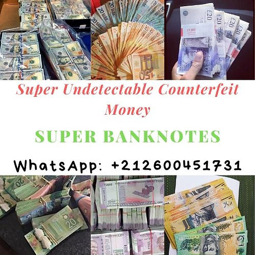 Counterfeit Money For Sale, Fake Money For Sale by Super Banknotes