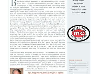 Paveaway Newsletter 5.12.17