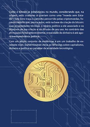 Daniel Kosinski Bitcoin e Criptomoedas Livro Verso