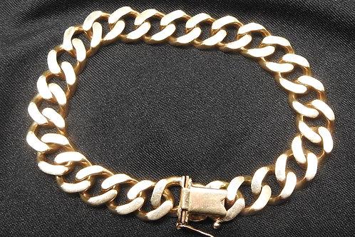 Heavy 9ct men's bracelet