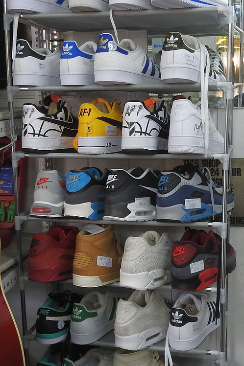 Good range of Nike and addidas runners all  new in box size 12 US..
