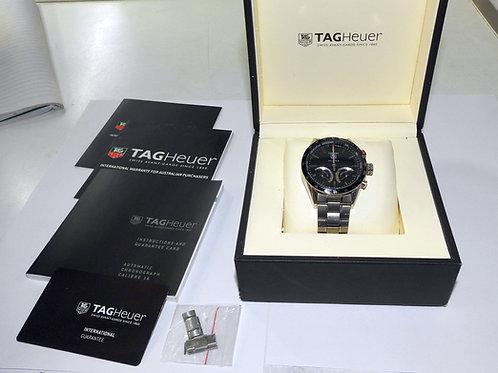 Tag Heuer Carrera Calibre S Chronograph Tachymeter Mens Watch CV7A12.B