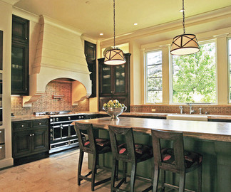 California Mission Style Eclectic: Kitchen