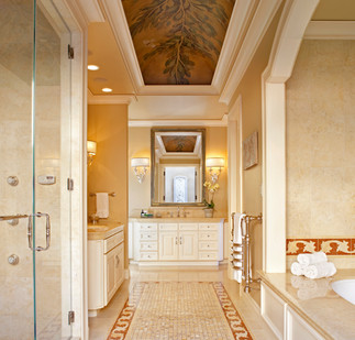 Old Hewlett Estate - Master Bathroom