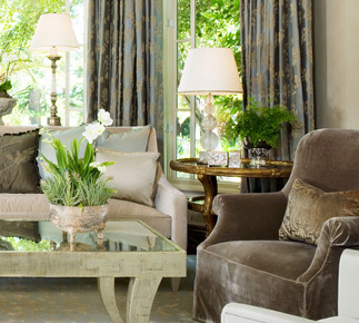 A Hillside Estate - Living Room