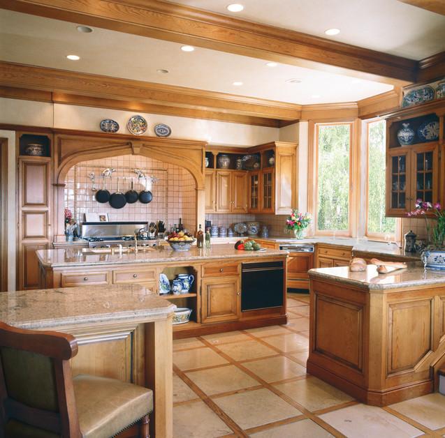 Kitchen Dreams: Wood Comfort