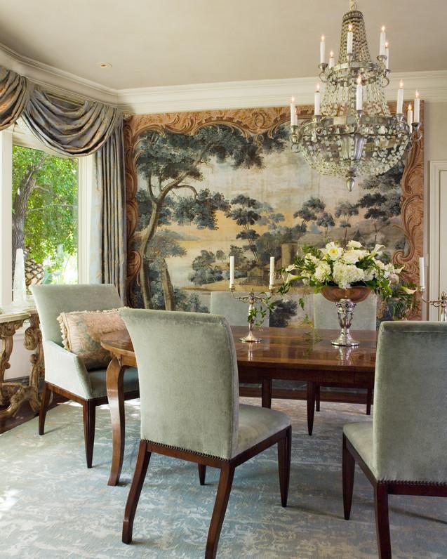 A Hillside Estate - Dining Room