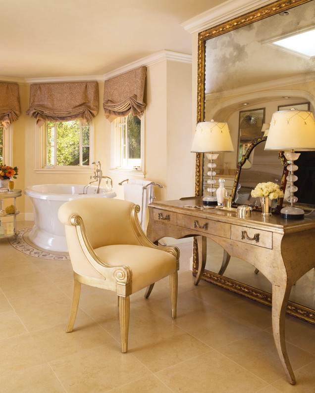 A Hillside Estate - Master Bathroom