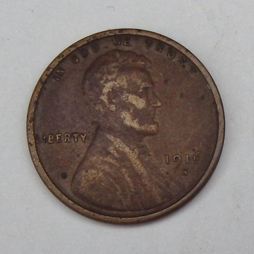 1916-S Lincoln Cent