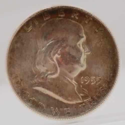 1955 Franklin Half Dollar