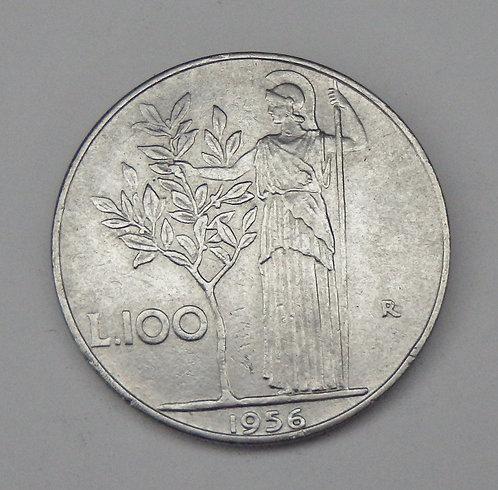Italy - 100 Lire - 1956R