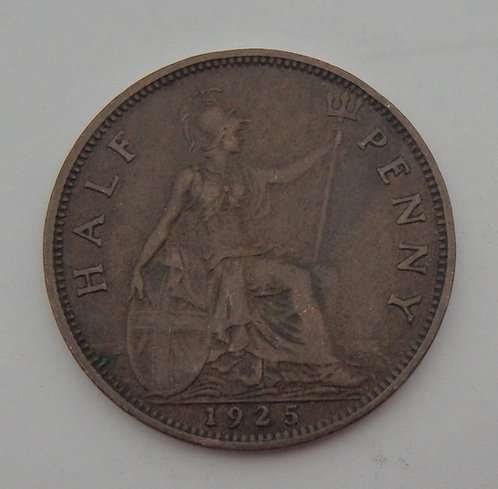 Great Britain - Half Penny - 1925