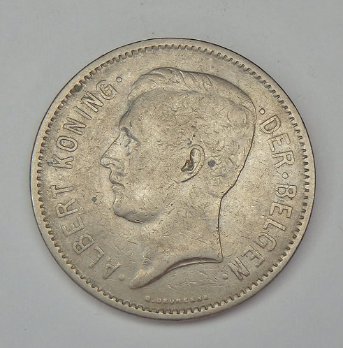 Belgium - 5 Frank - 1931
