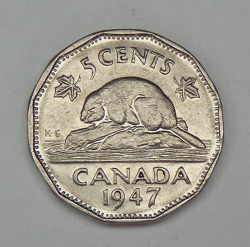 Canada - Nickel - 1947