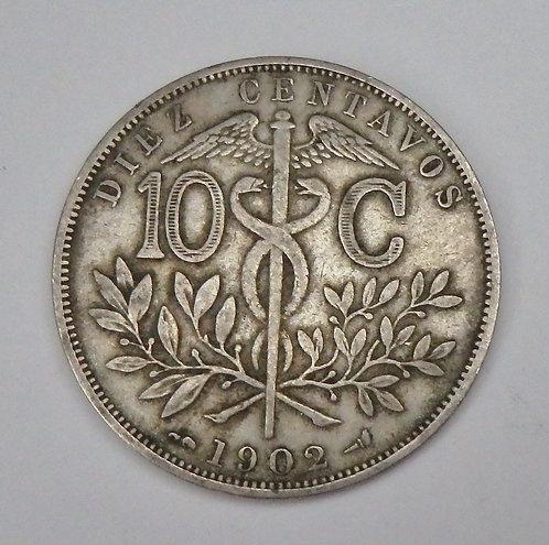 Bolivia - 10 Centavos - 1902