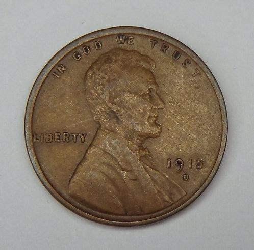 1915-D Wheat Cent