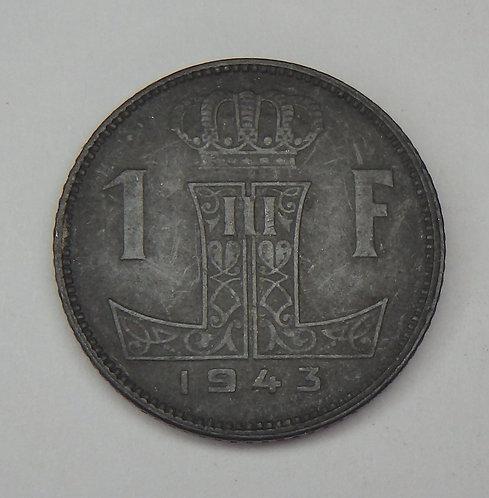 Belgium - Franc - 1943