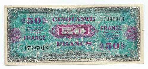 France - 50 Francs - 1944