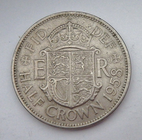 Great Britain - Half Crown - 1958