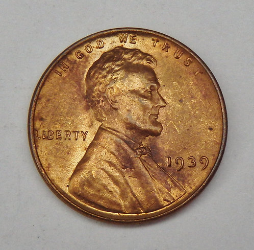 1939-D Lincoln Cent