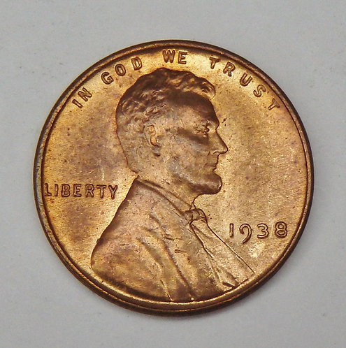 1938 Lincoln Cent
