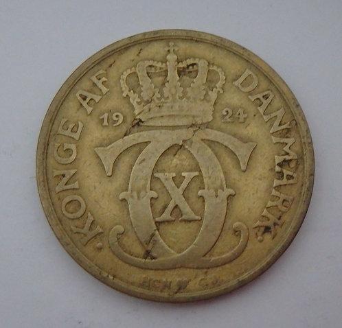 Denmark - 2 Kroner - 1924
