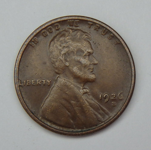 1926-S Wheat Cent