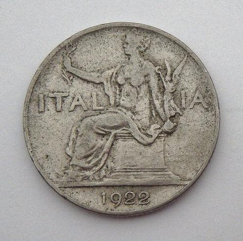 Italy - Lira - 1922