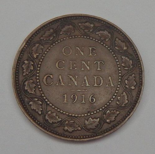 Canada - Cent - 1916